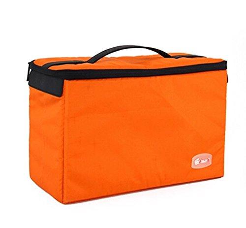 Mode Tasche Eindickung Stoß- Versatile Professional Camera Taschen Orange