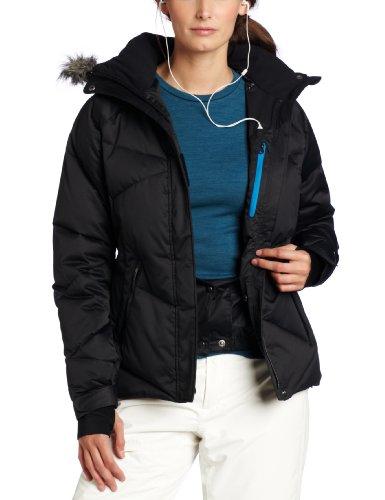 da colore Lay Giacca da donna imbottita nero d'oca sci D Columbia nero in piuma Bianco qfHUwtHnP