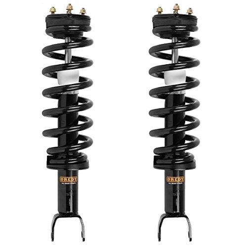 Front Pair Complete Strut Assembly for 2011-2014 Ram 1500 Automotive Complete Assemblies