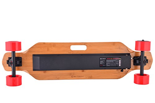 blitzart huracane 38 electric longboard e skateboard. Black Bedroom Furniture Sets. Home Design Ideas