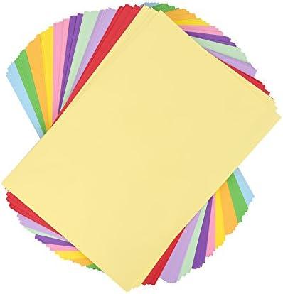Bastelpapier - Tonpapier-Set A4, farbig sortiert - 100 Blatt 110 g/m²