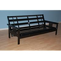 Monterey Futon Frame in Black Finish
