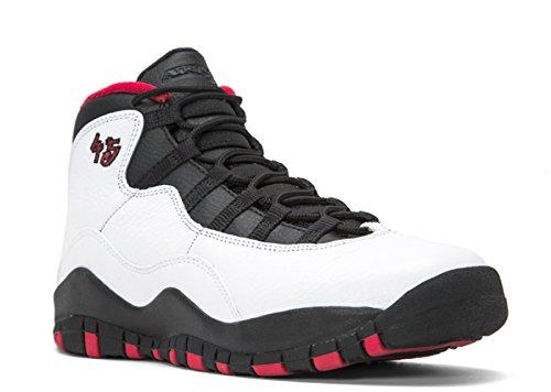 6c7256563444 Jordan Air 13 Retro Grey Toe BG Big Kids Shoes White Black-True Red ...