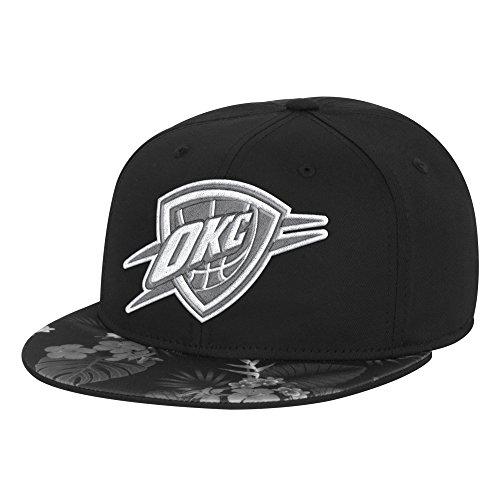 fan products of NBA Oklahoma City Thunder Men's Fanwear Hawaiian FVF Cap, Large/X-Large, Black