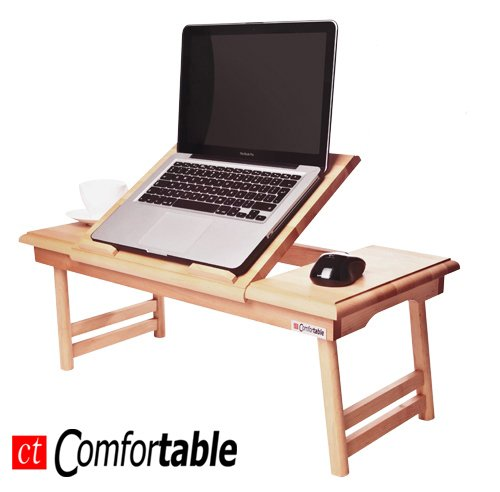 Mesa plegable para ordenador portátil o notebook Comfortable DUO ...