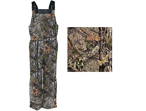 Walls Men's Insulated Bib, Mossy Oak Breakup Country, 2X (Overalls For Hunting)