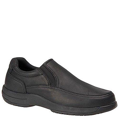 Walkabout Men's Slip-On Walking Shoe 11 4E US Black