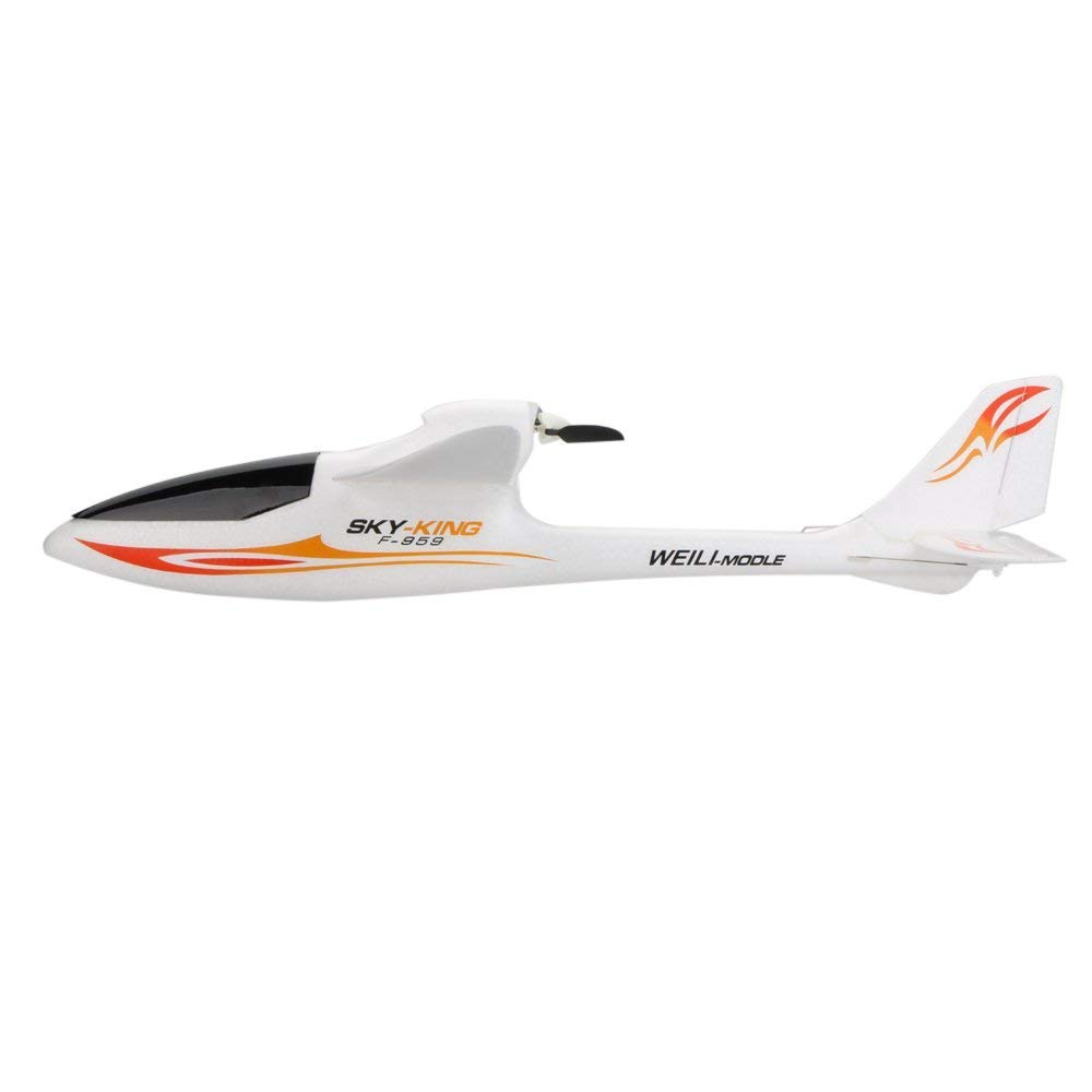 Park10 Toys F959 Sky-King 2.4G 3CH Radio Control RC Airplane Aircraft RTF (Red) by Park10 Toys (Image #2)