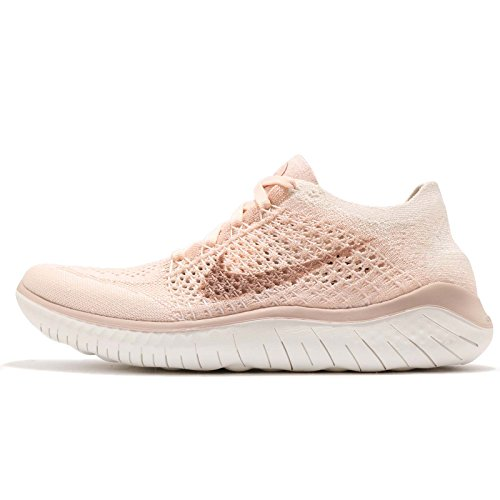 Particle 802 Flyknit Nike Chaussures Pink Femme Guava RN Free de Running Ice rust Beige 2018 Multicolore sail xTxP1wR