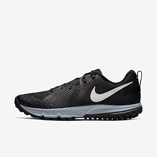 Nike Air Zoom Wildhorse 5 Men's Running Shoe Black/Barely Grey-Thunder Grey-Wolf Grey 10.5
