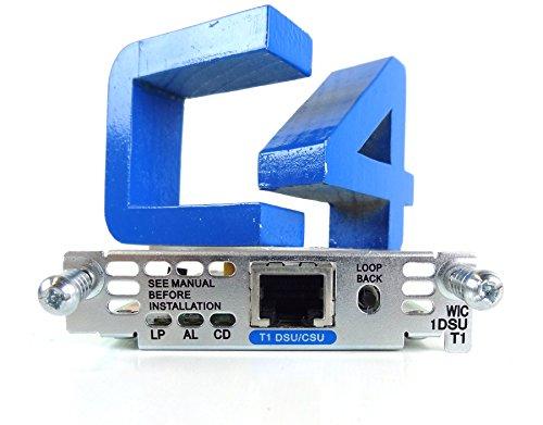 - Microtel Cisco WIC-1DSU-T1 1PT T1 DSU/CSU Interface Card for Cisco 1600/1700/2600/3600 Routers