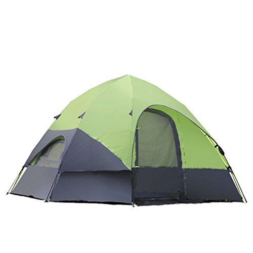 起きているイライラする悪党テント、自動Yurt防雨屋外キャンプファミリーテント