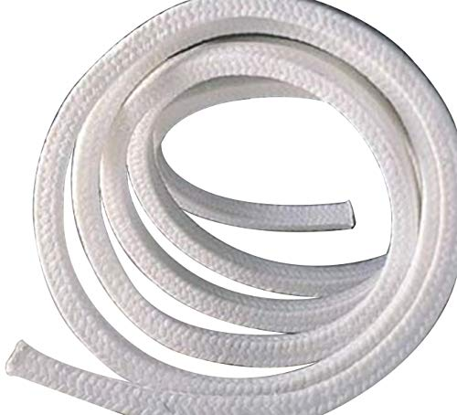 10 x 10 x 1000mm Teflon PTFE Square Braided Rope Gasket Gland Packing