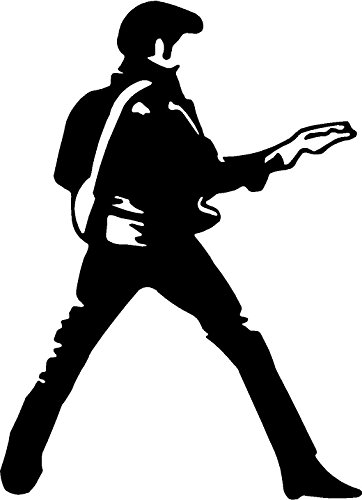 Elvis Presley Guitar Dance - Movie Decal - Elvis Presley Car Shopping Results