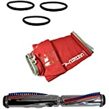 Sanitaire Eureka Commercial Vacuum Cleaner Brush Roll, Cloth Shake Out Bag, and 3 Round Vacuum Cleaner Belts