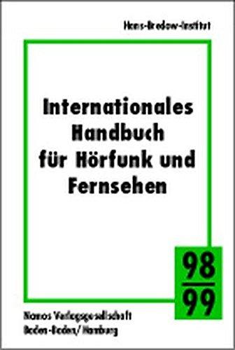 Internationales Handbuch für Hörfunk und Fernsehen, 1998/99