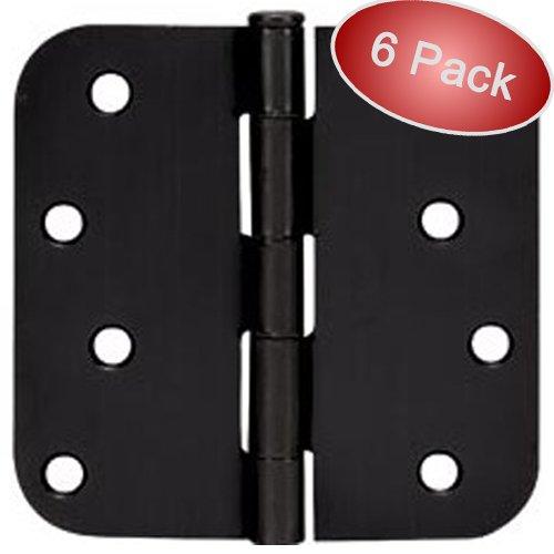 4x4 Door Hinges (Cosmas Flat Black Door Hinge 4