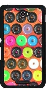 Funda para Sony Xperia E4 - Botones Coloridos