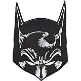DC Comics Iron on Patch - Batman Head Mask Design Applique