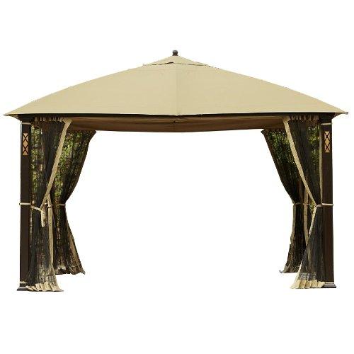 Cheap Cedar River Gazebo Replacement Canopy and Netting – RipLock 350
