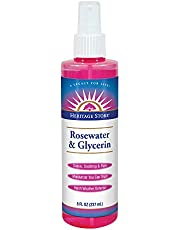 Heritage Store - Flower Water Atomizer Rosewater & Glycerin - 8 oz - 237 mL
