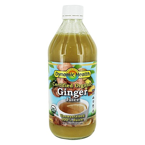 Ginger Juice Certified Organic Dynamic Health 16 fl oz Liquid (Best Gin Based Cocktails)