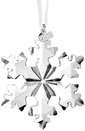 Decorative Holiday Star Ornament (Swarovski 5180210 Annual Edition 2016 Christmas Ornament)