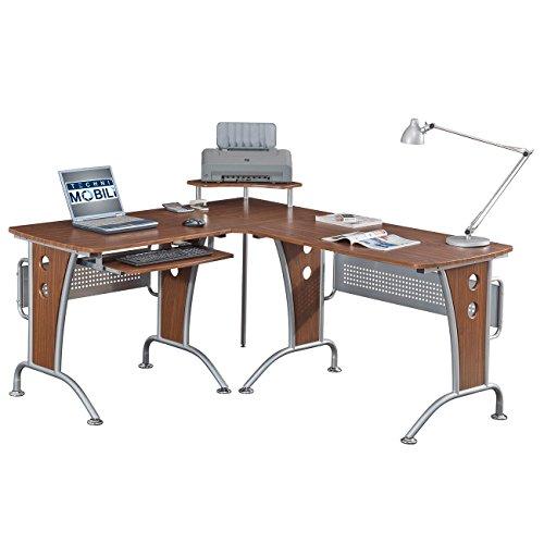 RTA Products Techni Mobili L-Shaped Computer Desk RTA Products LLC