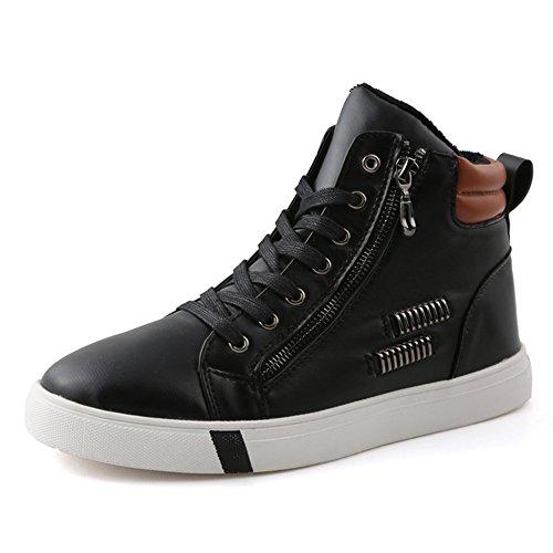 Men's Shoes Feifei PU Material Leisure Winter Keep Warm 01 pvPGXI