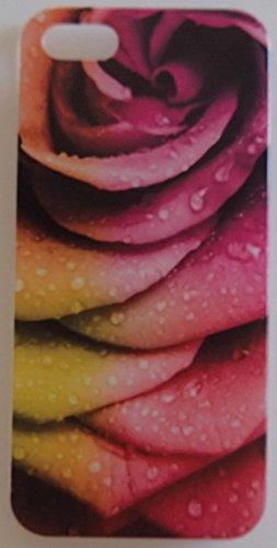 Coque iPhone 5 / 5S / 5SE Fleur Rose