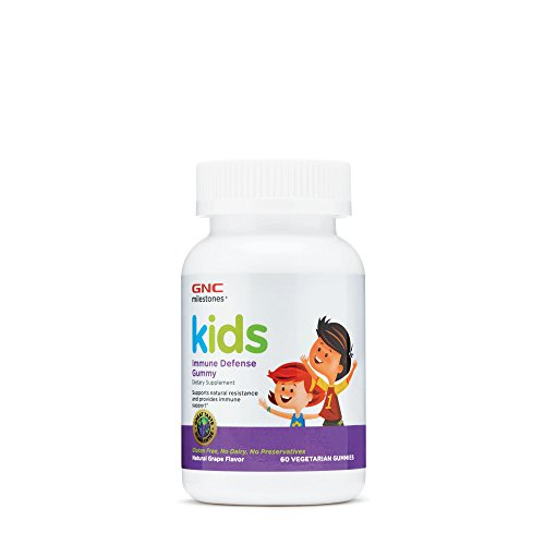 GNC milestones Kids Immune Defense Gummy - Grape ()