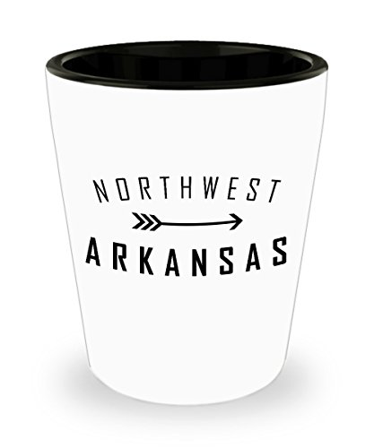 Northwest Arkansas Shot Glass! Great gift for those that love all things NWA.