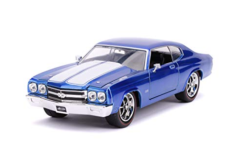 Jada Toys Big Time Muscle 1970 Chevy Chevelle SS Blue 1: 24 Diecast Vehicle (Car 1 24)