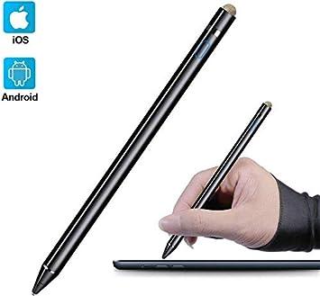 2x 2 en 1 Lápiz Stylus para pantalla táctil capacitiva y resistiva Para iPhone