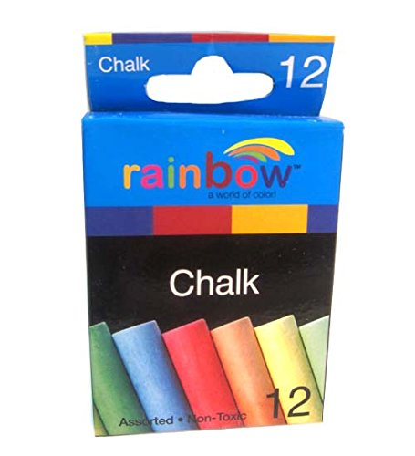 Colored Chalks Assorted Colors 12 count, Case of 24