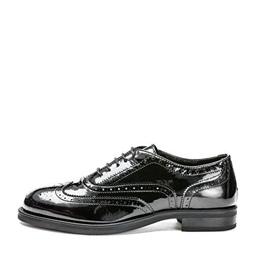 Zapatos FRAU de Piel cordones de NERO mujer para VERNICE FdpgqPdw