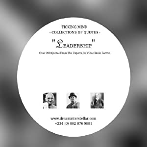 Amazon Watch Ticking Mind Collection Of Quotes Leadership