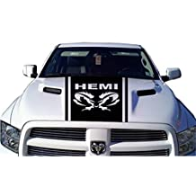 Decal sticker compatible with HEMI TRIBAL Dodge Ram Vinyl Decal Graphic 22 x 46 inch