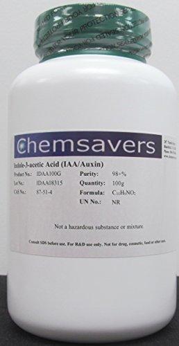 Indole-3-acetic Acid (IAA/Auxin), 98+%, 100g