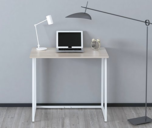 Cherry Tree Furniture Compact Foldable Computer Desk