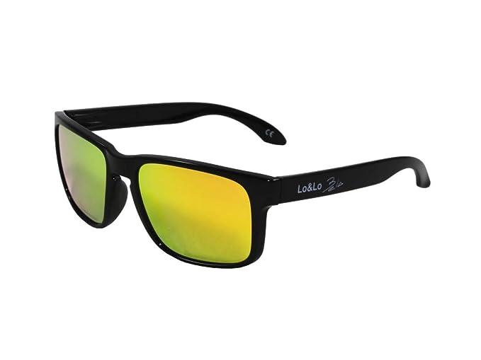 Gafas de sol polarizadas Padel deportivas y casuales Bela Black Orange: Amazon.es: Ropa y accesorios
