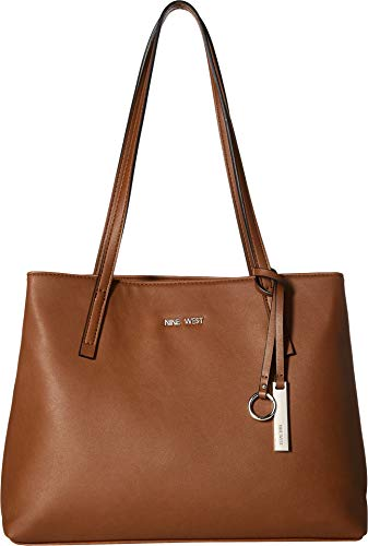 Nine West Womens Darrio Tote Bourbon One Size from Nine West