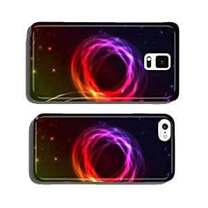 Abstract background with colorful plasma illustration cell phone cover case iPhone6 Plus