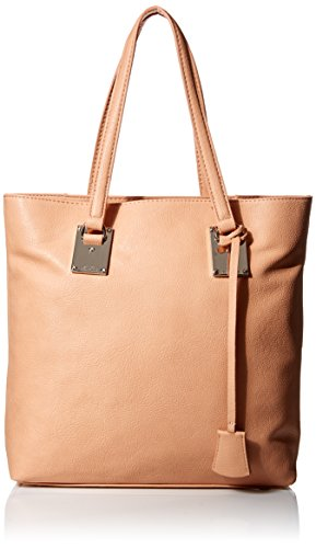 London Fog Smithfield Style Tote Bag ,Peach ,One Size by London Fog