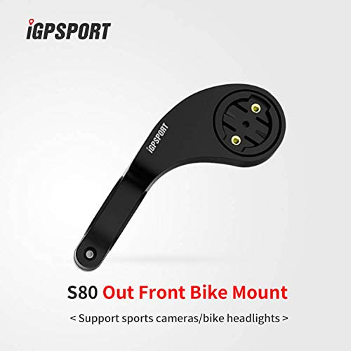 iGPSPORT S80 Out Front Aero Computer Mount Garmin 200 500 800 1000 Compatible