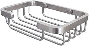 KES Soap Dish for Bathroom, SOLID SUS 304 Stainless Steel Shower Soap Holder Bath Sponge Holder Wall Mount Brushed Finish, BSH200-2