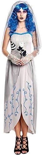 Disfraz de Novia Cadáver Blue Mujer (Talla L) Halloween: Amazon.es ...
