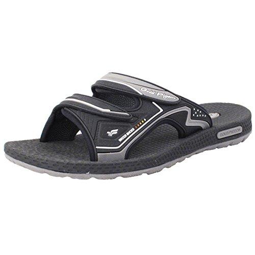Gold Pigeon Shoes GP7592 Slide Sandals: 8547 Grey, EU41
