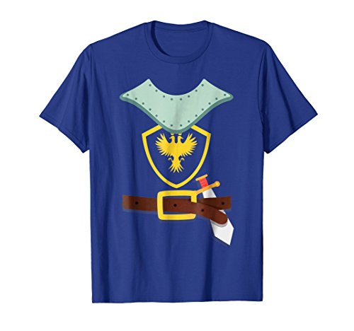 Knight In Shining Armor Sword Suit Halloween Costume TShirt
