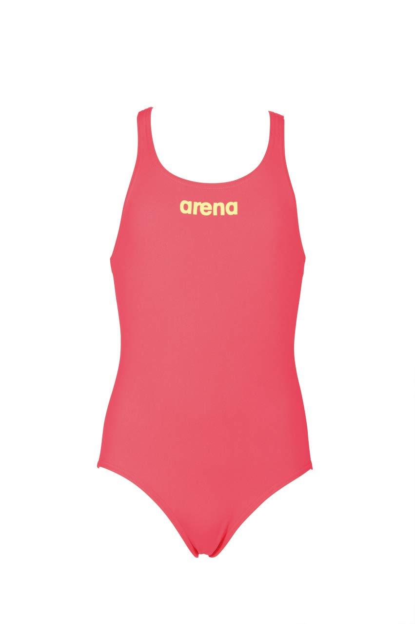 Arena G Solid Swim PRO Jr, Costume Tech da Allenamento Bambina 2A263
